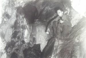 JH v Netopýrce pod komíny. 1956